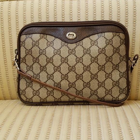 Gucci GG Web Supreme Logo Crossbody Bag